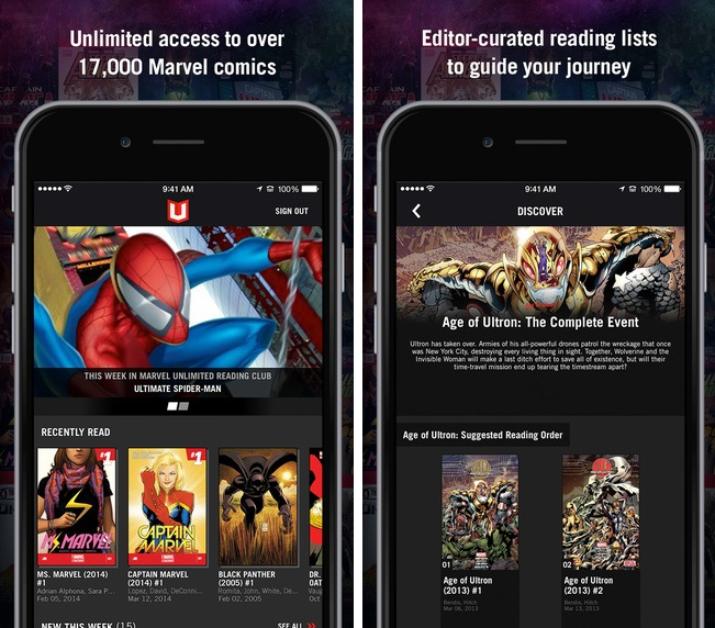 Marvel Unlimited - Imagem 1 do software