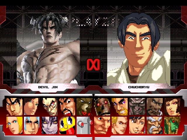 Devil Jin vs Chuchoryu