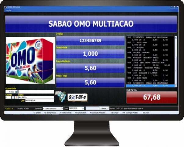 Emissor de CFe SAT Fiscal - Imagem 1 do software