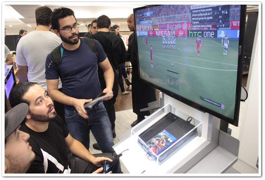 PlayStation abre espaço em Saraiva de São Bernardo e prepara mais novidades
