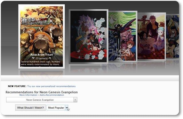 Anime Suggestions - Imagem 1 do software