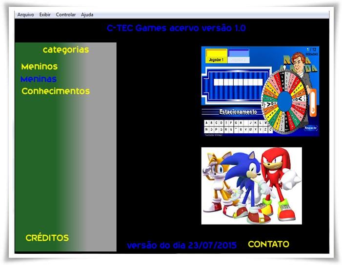 Acervo de Games C-TEC - Imagem 1 do software