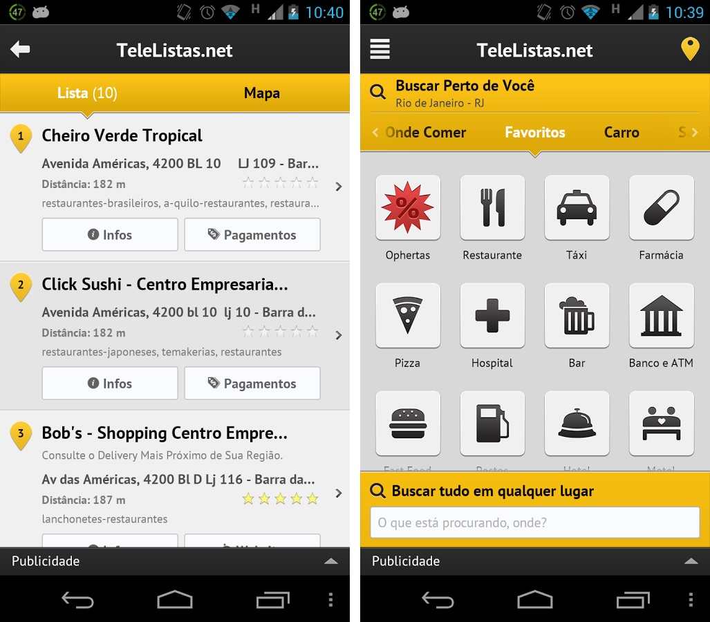 TeleListas.net Mobile - Imagem 1 do software