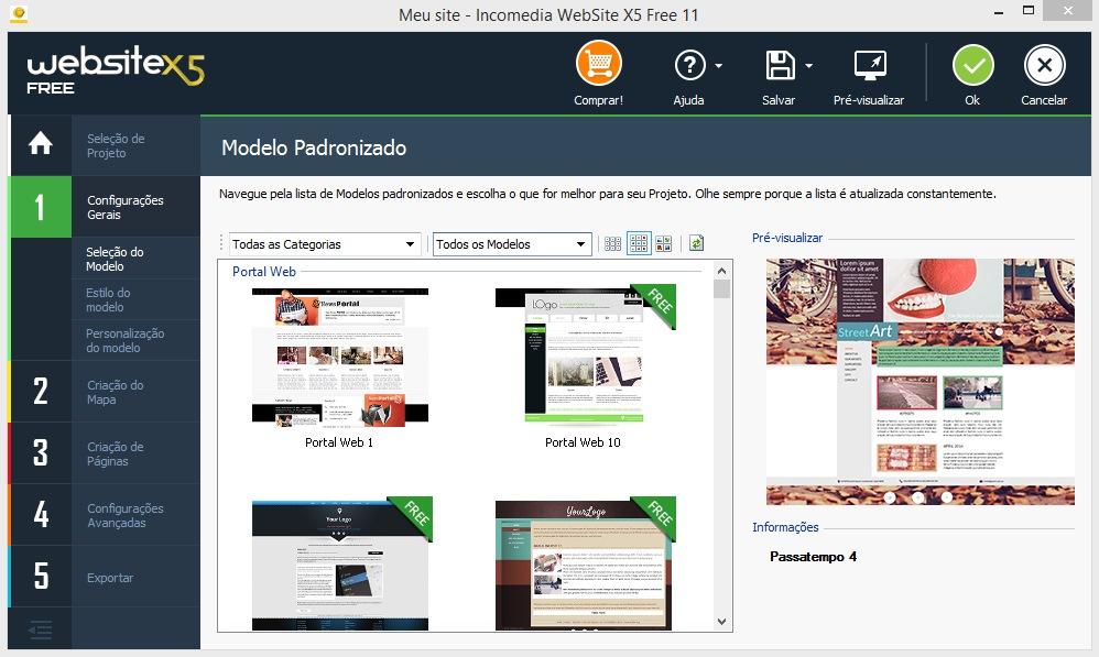 WebSite X5 Free - Imagem 1 do software