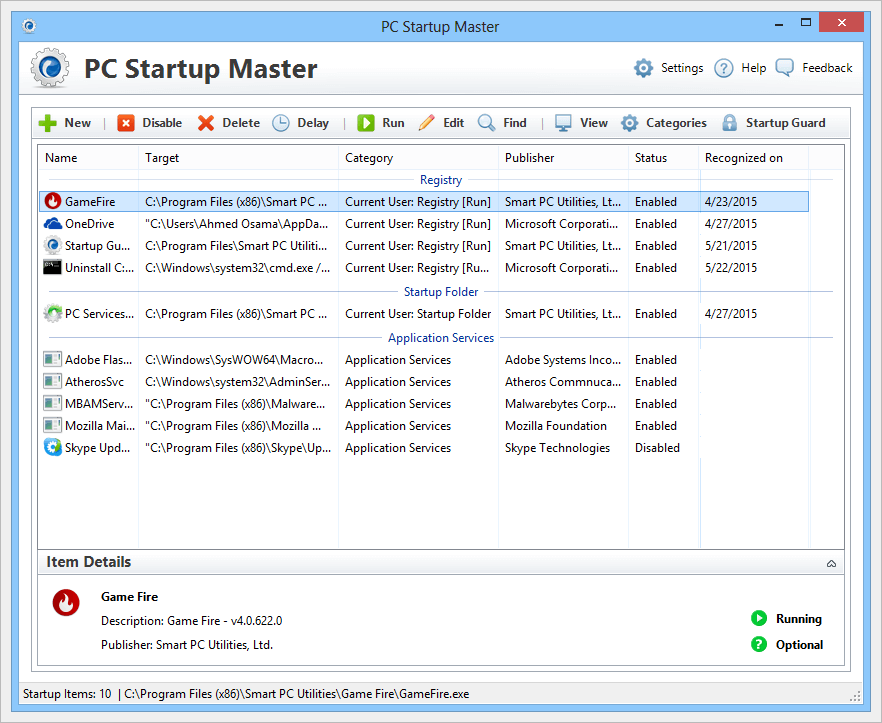 PC Startup Master - Imagem 1 do software