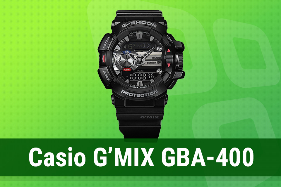 6d36e19bf97 Review  relógio inteligente Casio G MIX GBA-400 - TecMundo