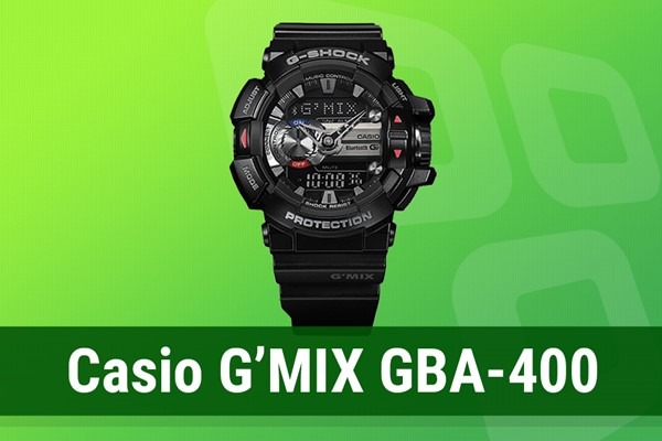 d152e3f257f Review  relógio inteligente Casio G MIX GBA-400 - TecMundo