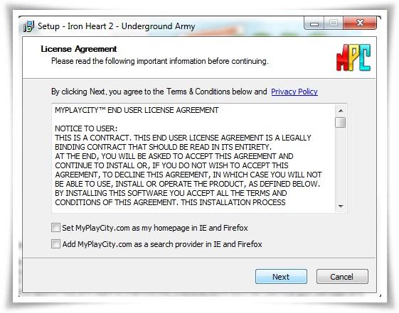 Iron Heart 2: Underground Army - Imagem 3 do software