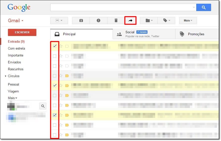 Multi Forward for Gmail - Imagem 1 do software
