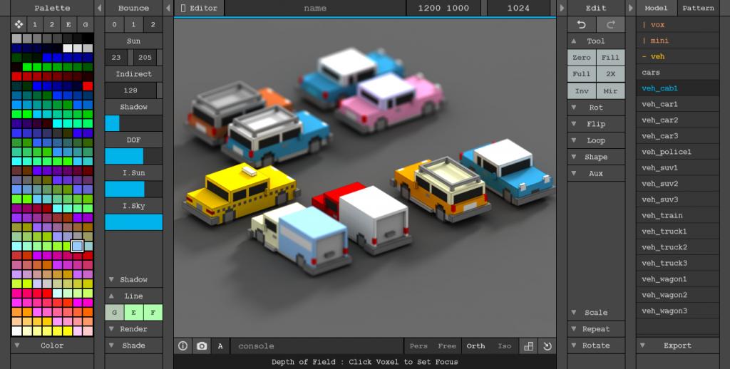 MagicaVoxel - Imagem 2 do software