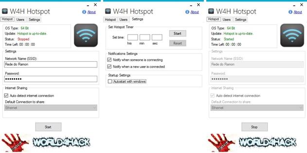 W4H Hotspot - Imagem 1 do software