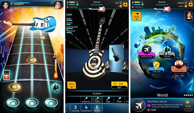 Rock Life – Hero Guitar Legend - Imagem 1 do software