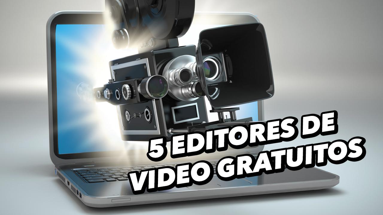 5 programas gratuitos para editar vídeos
