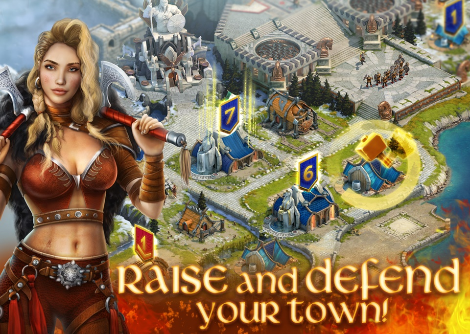 Vikings: War of Clans - Imagem 1 do software