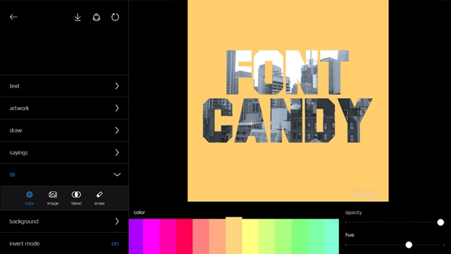 Font Candy - Imagem 1 do software