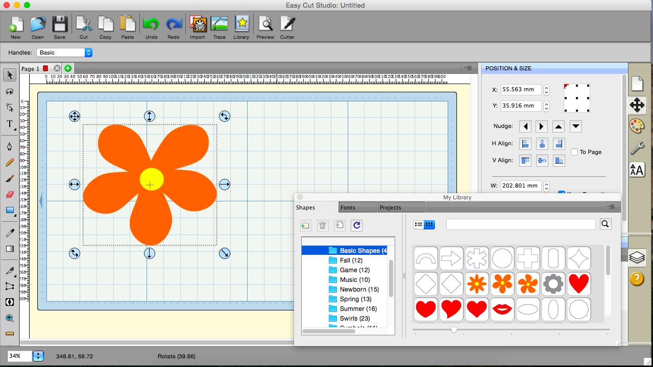 Easy Cut Studio - Imagem 1 do software