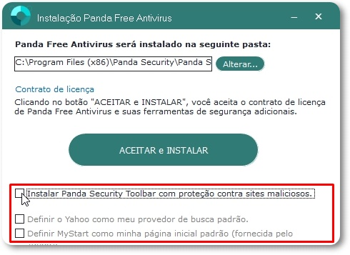 Panda Antivirus Free - Imagem 3 do software