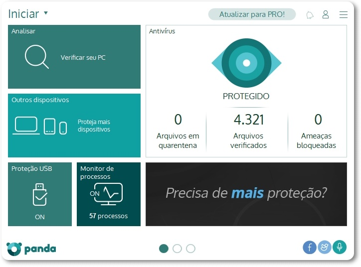 Panda Antivirus Free - Imagem 2 do software