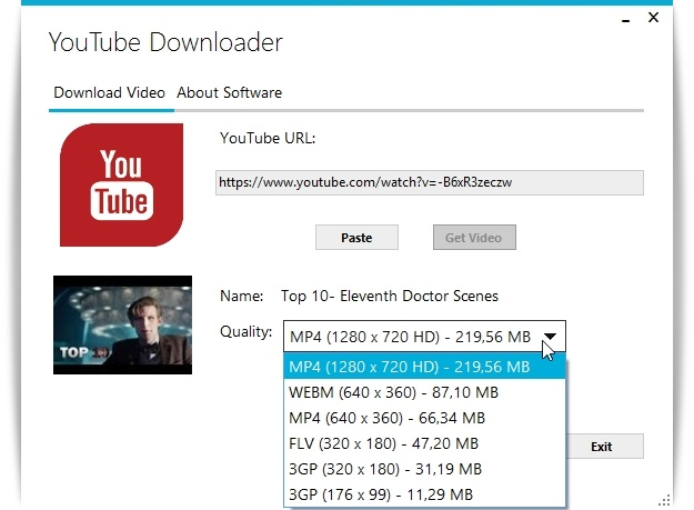 Codzz YouTube Downloader - Imagem 1 do software
