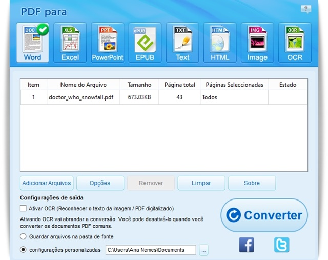 Renee PDF Converter - Imagem 1 do software