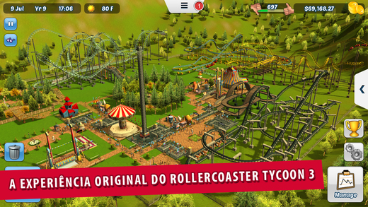 RollerCoaster Tycoon® 3 - Imagem 1 do software