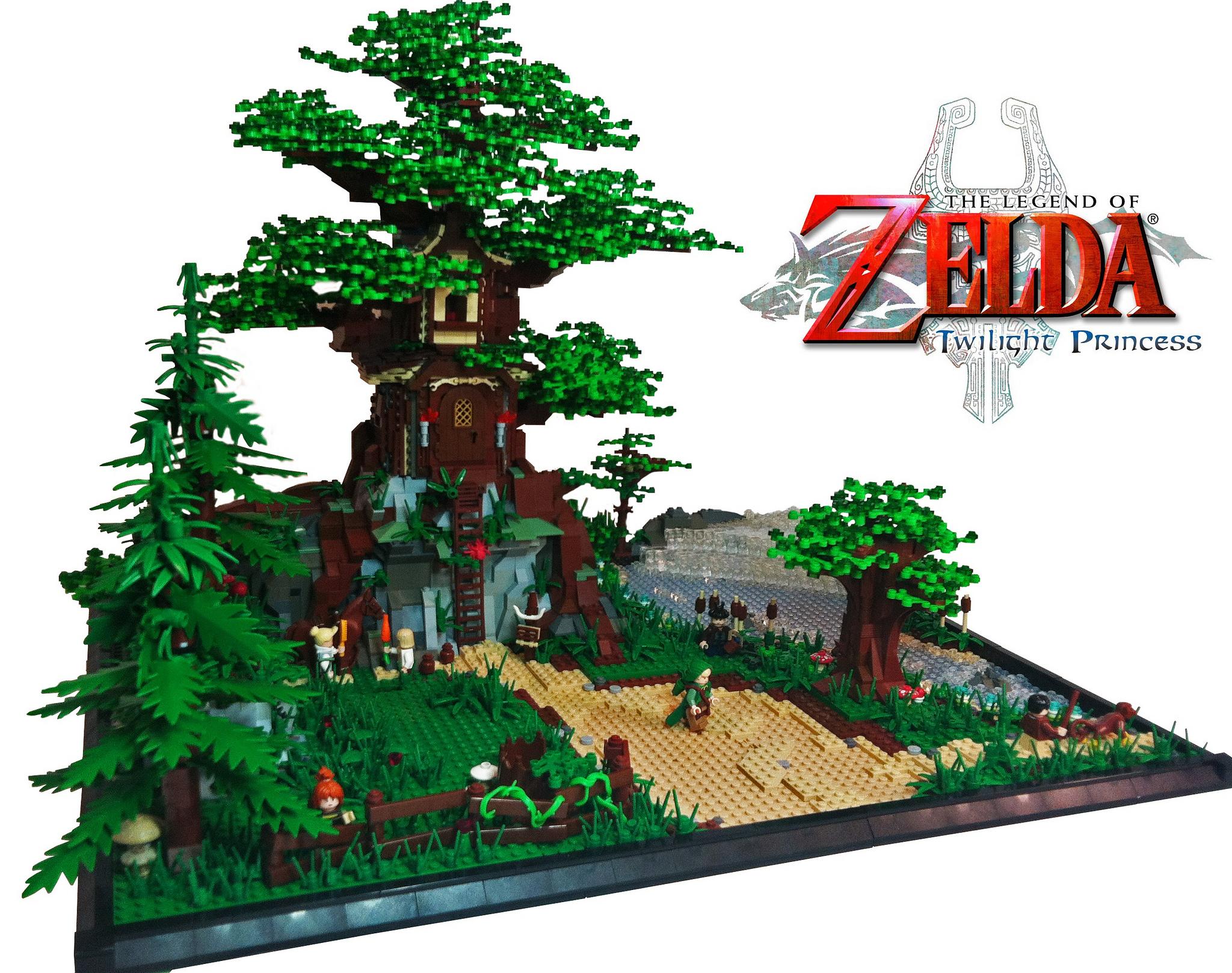 CA-RAM-BA! Jovem constrói miniatura do Hyrule Castle só com blocos de LEGO