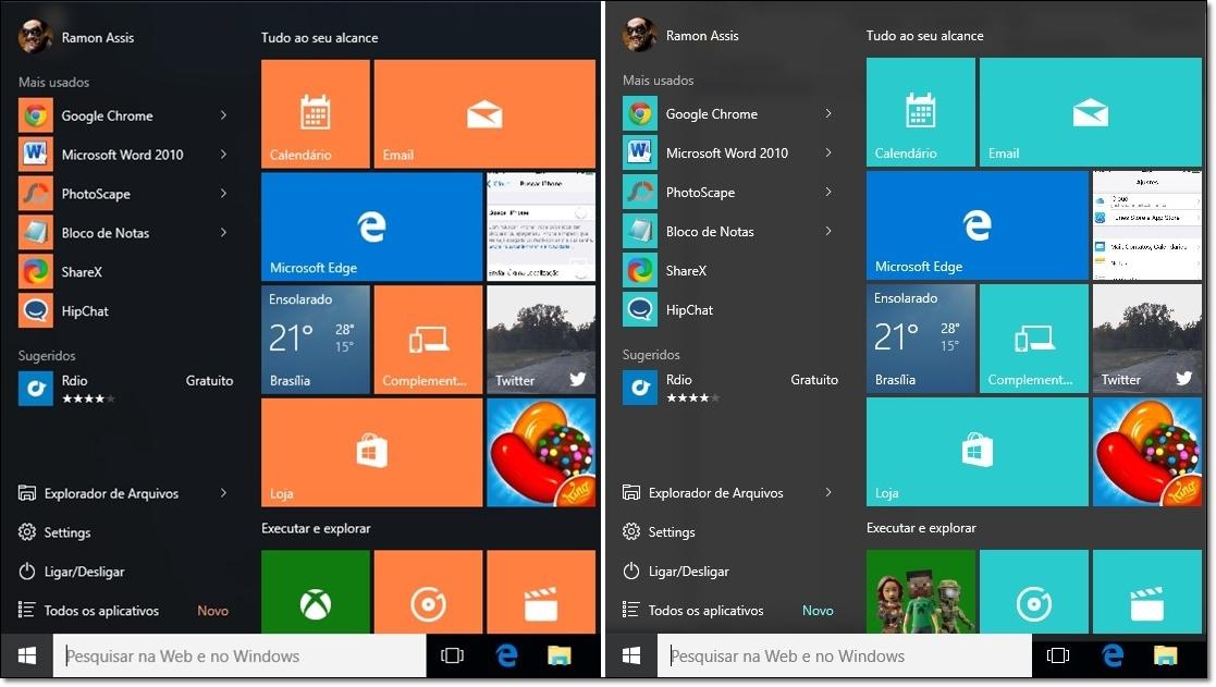 Windows 10 Color Control - Imagem 1 do software