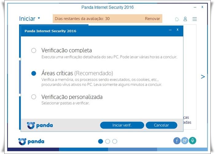 Panda Internet Security - Imagem 3 do software