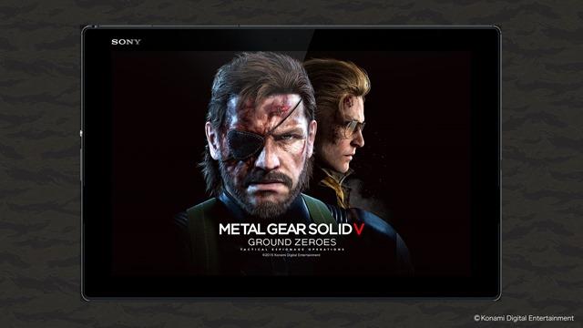 Sony anuncia tablets, smartphone e MP3 players de MGS V: The Phantom Pain