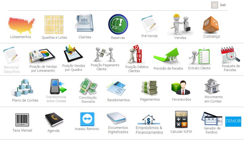 Sistema Gestão de Loteamento - Imagem 1 do software