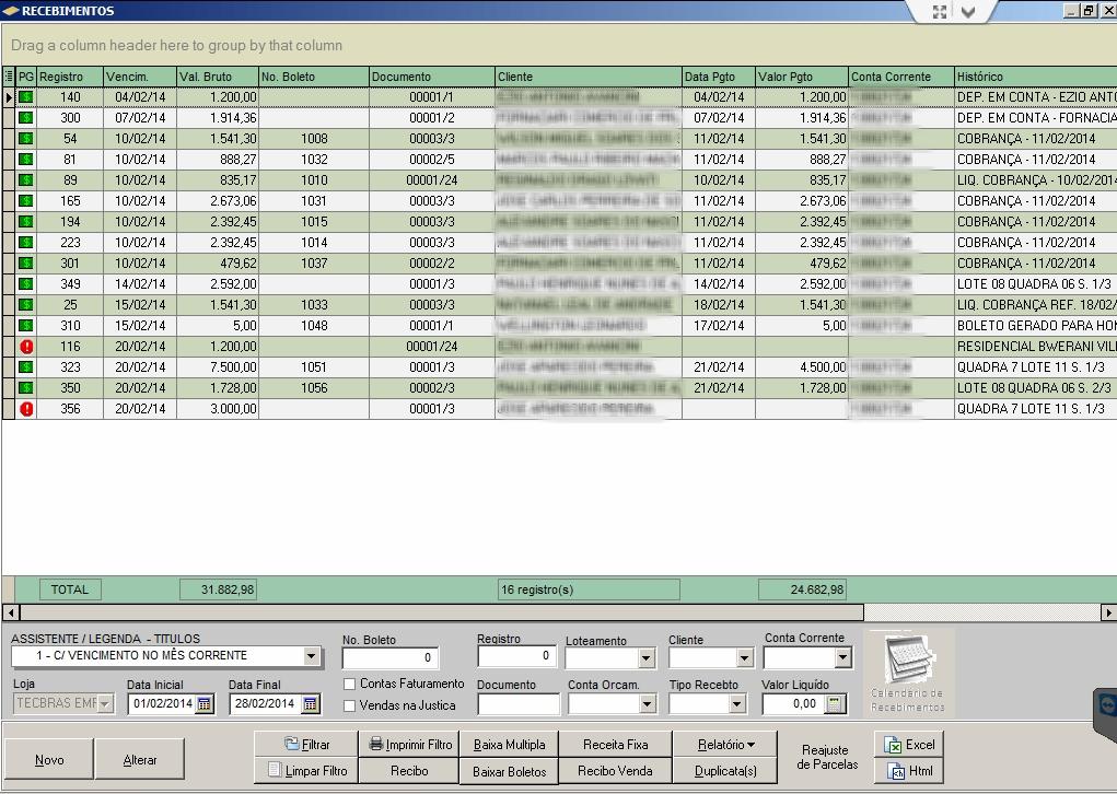 Sistema Gestão de Loteamento - Imagem 3 do software