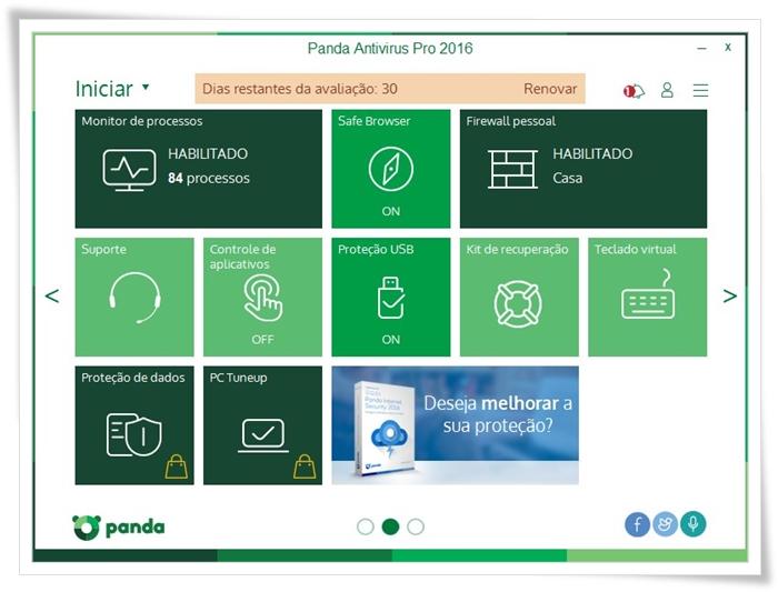 Panda Dome Essential - Imagem 2 do software