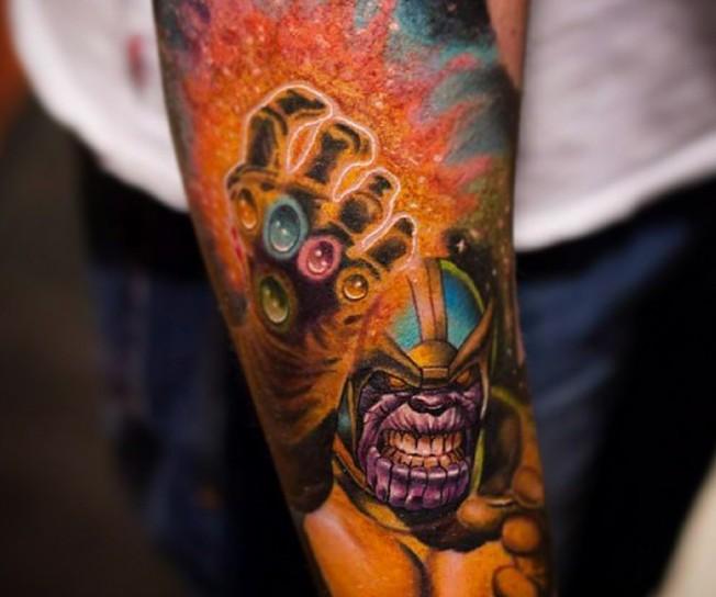 20 Tatuagens Incr 237 Veis Inspiradas Em Quadrinhos Mega Curioso
