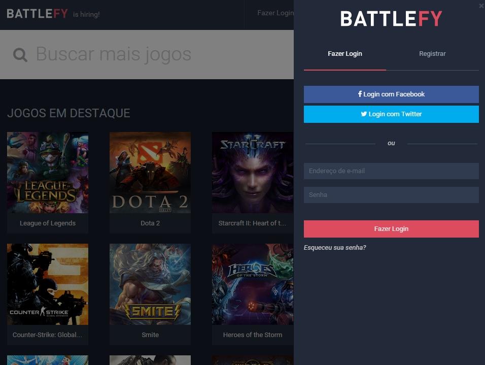 BattleFy - Imagem 1 do software