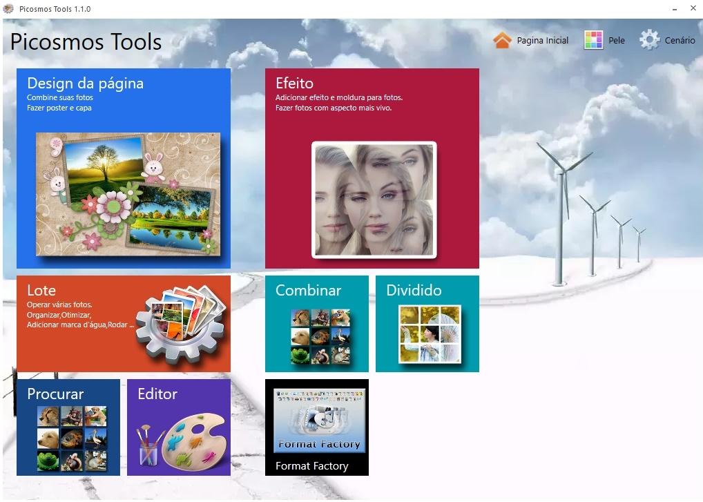 Picosmos Tools - Imagem 1 do software