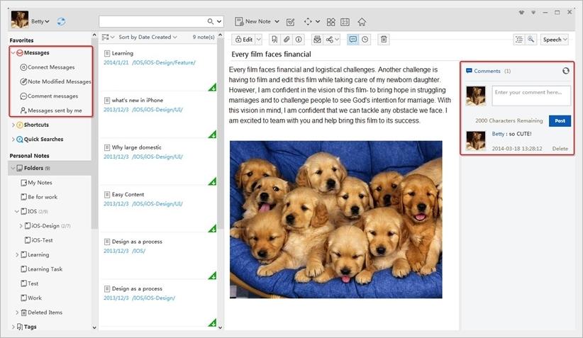 WizNote - Imagem 1 do software