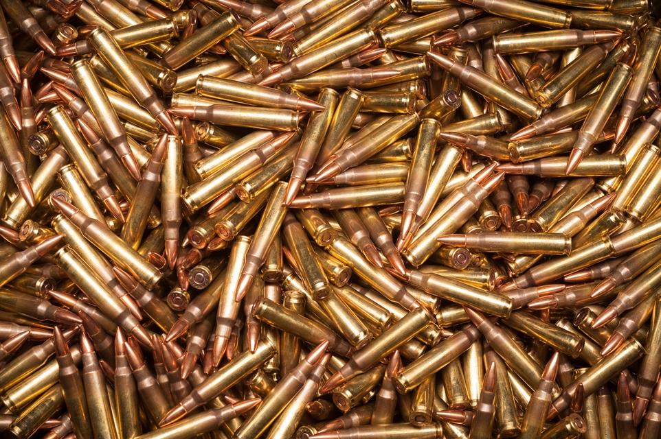 Veja 2 mil balas serem destruídas como se fossem pipoca em 2 minutos