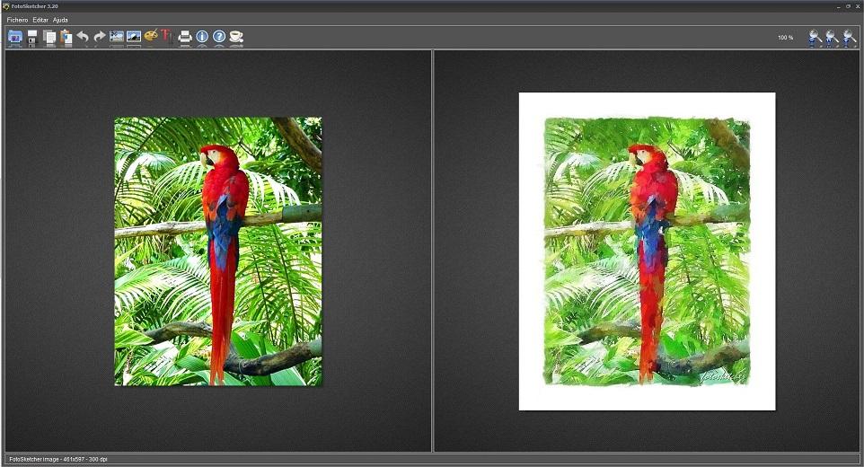 FotoSketcher - Imagem 1 do software