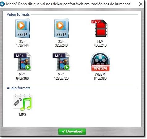 EDS Video Downloader - Imagem 2 do software