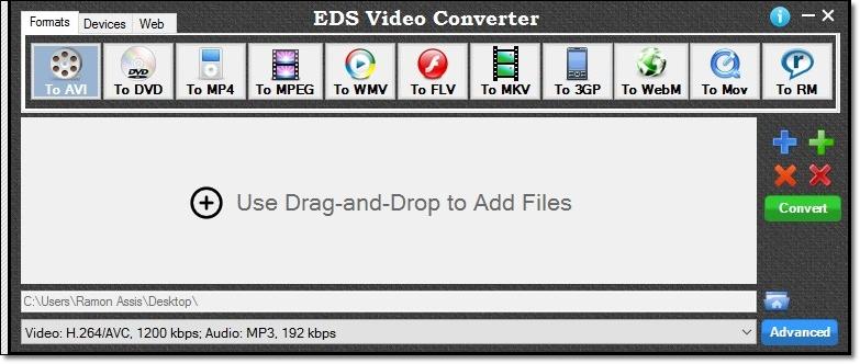 EDS Video Converter - Imagem 1 do software
