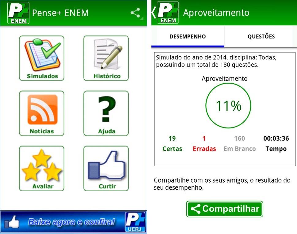 Pense+ (ENEM) - Imagem 1 do software