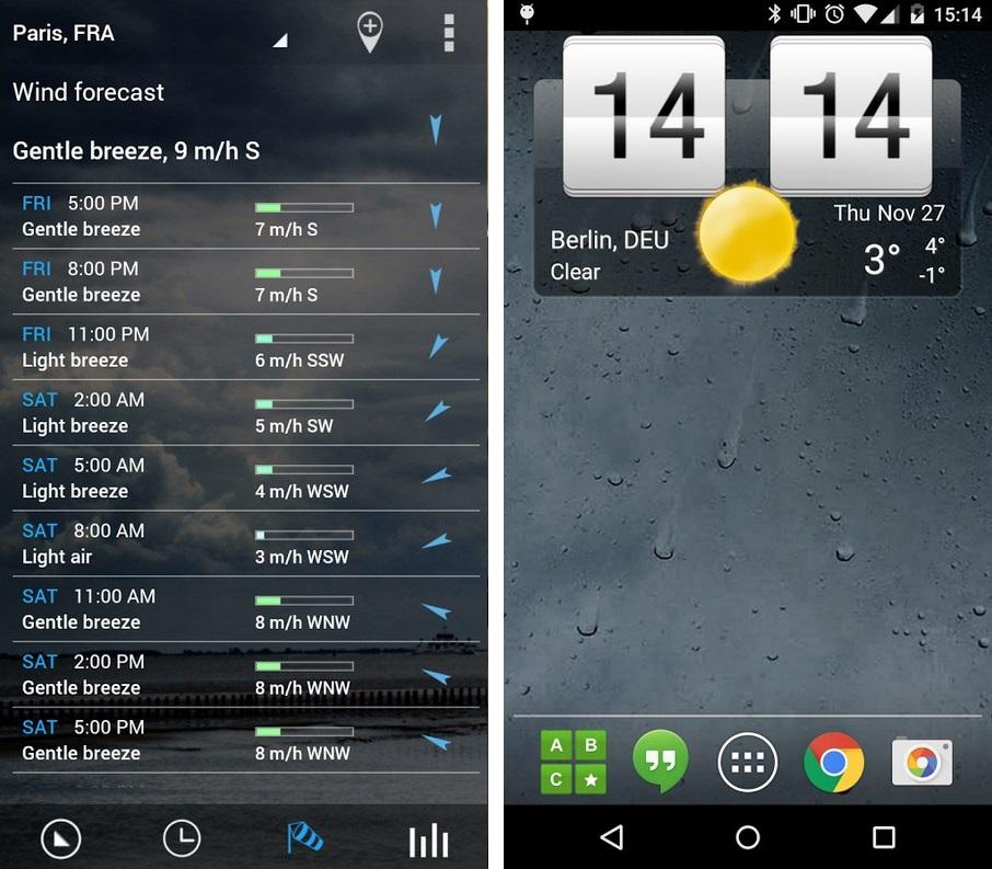 Sense flip clock & weather - Imagem 1 do software
