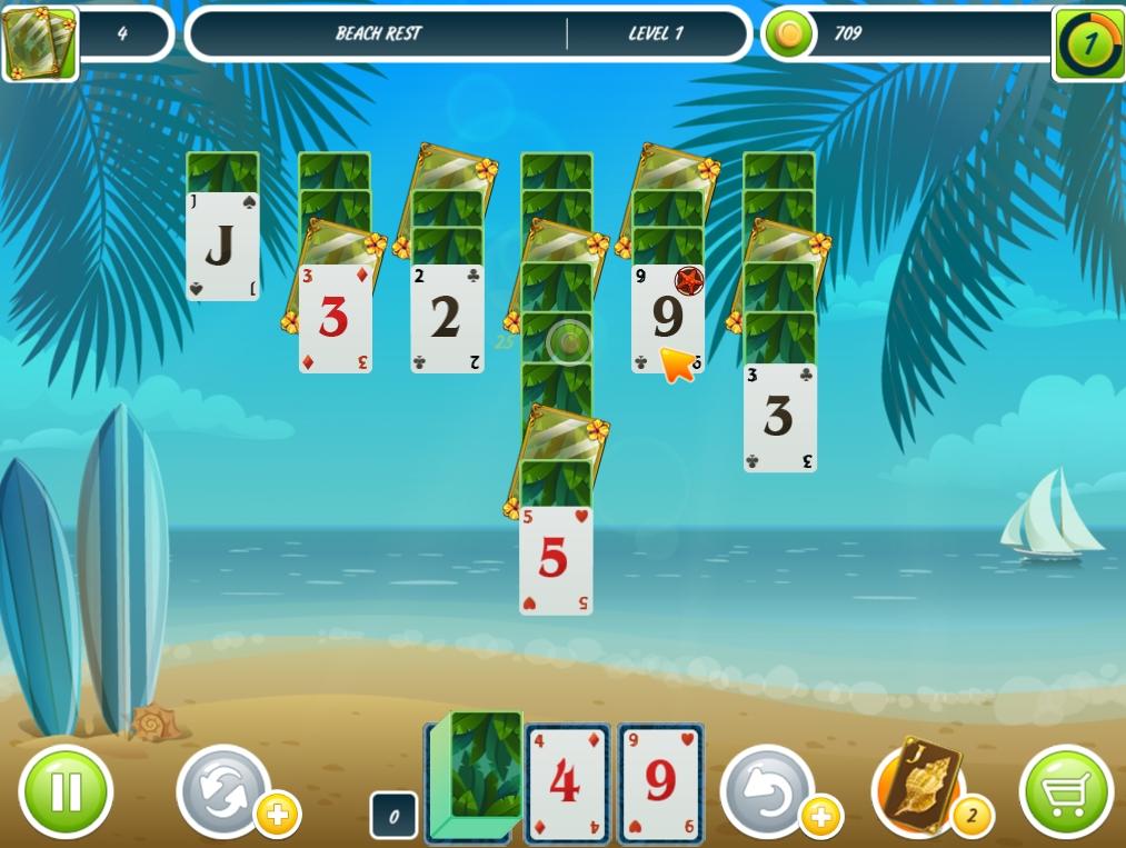 Solitaire Beach Season - Imagem 1 do software