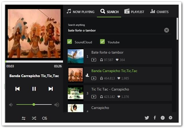 UpNext Music Player - Imagem 1 do software