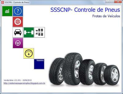 SSSCPN - Controle de Pneus - Imagem 1 do software