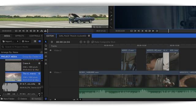 HitFilm - Imagem 2 do software