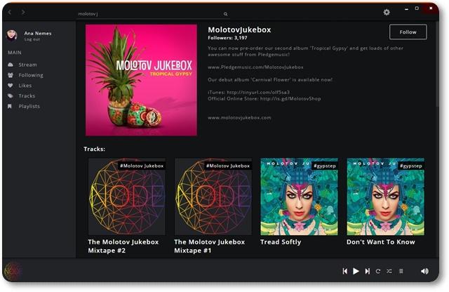 SoundNode - Imagem 1 do software