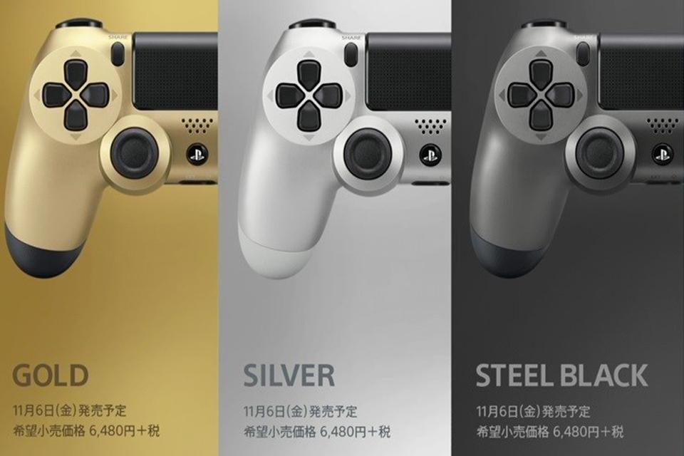O controle transparente voltou! Vem aí novas cores de PS4 e DualShock 4