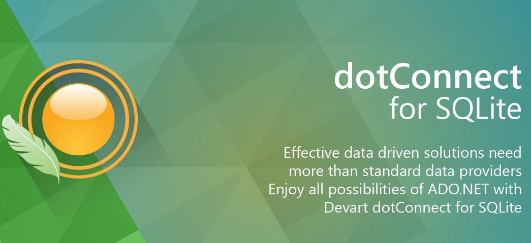 dotConnect for SQLite Professional - Imagem 1 do software