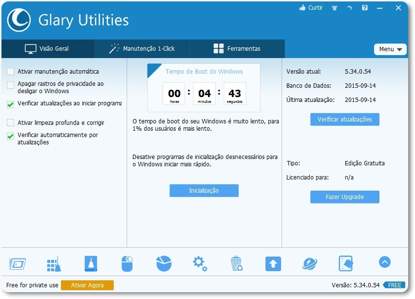 Glary Utilities - Imagem 1 do software